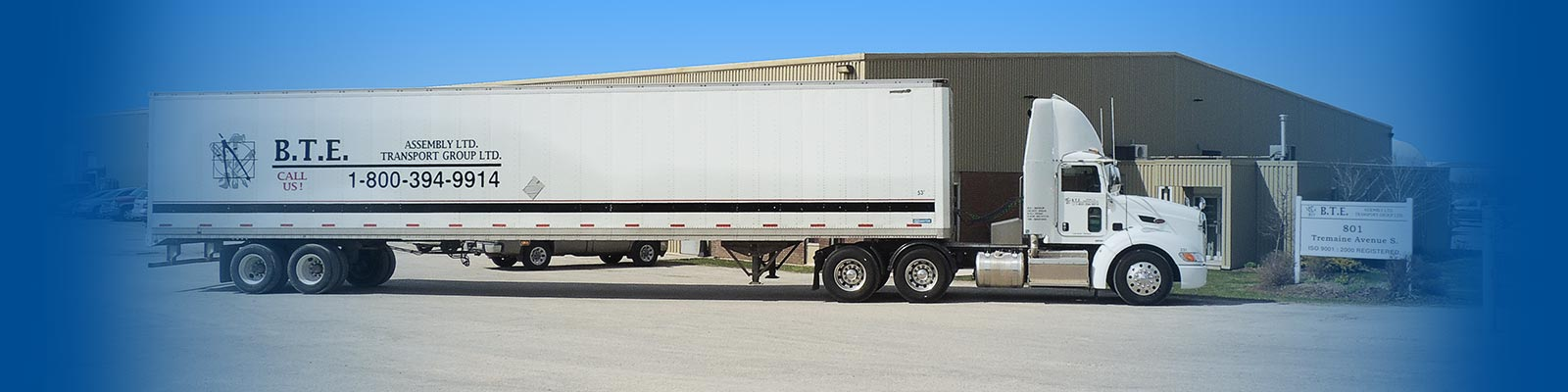390bd29b320 Servicing business locally to the 401 corridor | BTE Transport Group Ltd.
