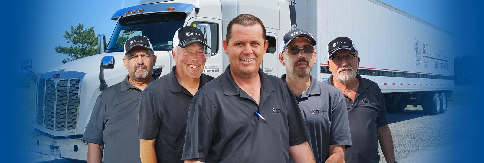 Our Happy Truck Drivers